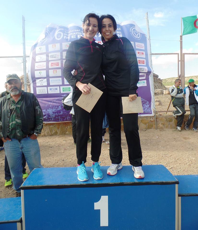 2 femmes sur le podium