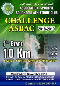 challenge 10km 2018-2019