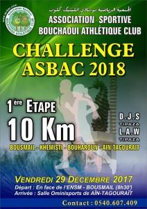 challenge 10km 2018