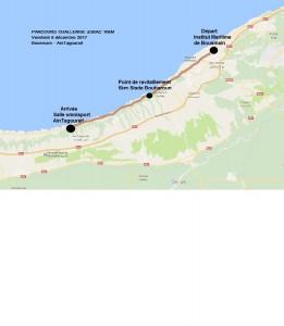 parcours challenge 10km 2018