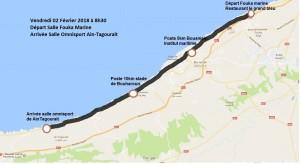 parcours challenge 15km 2018